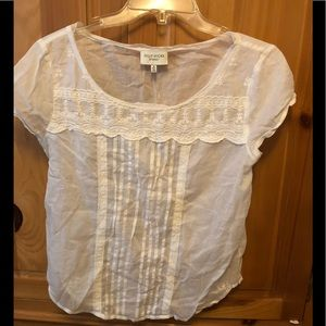 Beautiful cream top from Gilly Hicks